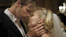 "Alexander Skarsgard and Kirsten Dunst in a scene from ""Melancholia"" (Courtesy of eOne Films)"