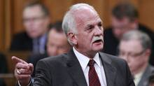 Public Safety Minister Vic Toews has proposed six changes to the omnibus anti-crime bill. (Chris Wattie/Reuters)