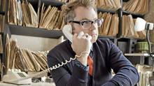 Steven Page, formerly of Bare Naked Ladies, now on the phone (Valerie Joidon Keaton)