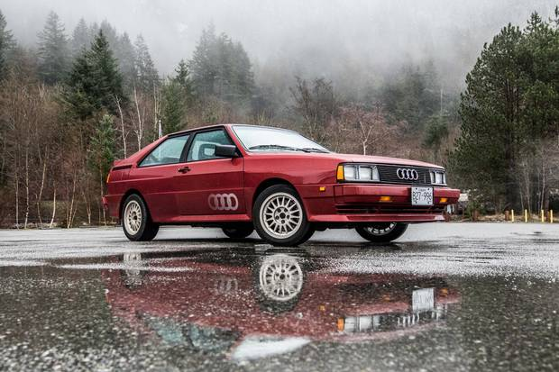 How Audis Turbocharged Quattro Changed The World The Globe And Mail - Audi quattro
