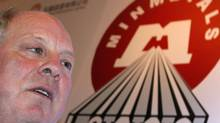 Andrew Michelmore, CEO of Minmetals. (BOBBY YIP/REUTERS)