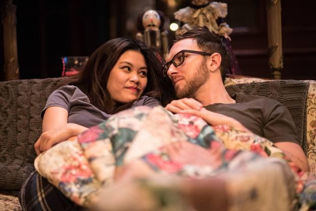 Loretta Yu and Philip Riccio in John.