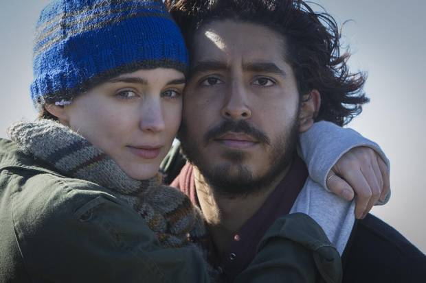Rooney Mara and Dev Patel appears in a scene from Lion.