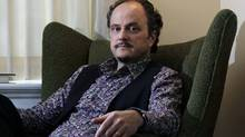In this Sept. 26, 2011 photo, Pulitzer Prize winning author Jeffrey Eugenides poses at his home in Princeton, N.J. (Mel Evans/AP)