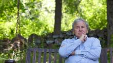 Gilles Rousseau, the father of Lauren Rousseau, a teacher killed at Sandy Hook Elementary School, seen at his Southbury, Conn. home May 17, 2013. Rousseau is now spending much of his time lobbying for stricter gun control. (Michelle McLoughlin FOR THE GLOBE AND MAIL)