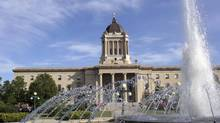 The Manitoba legislature in Winnipeg. Manitoba is calling for a recount of its population, claiming Statistics Canada's estimates are too low and are ultimately short-changing the province in transfer payments. (TIM POHL/GETTY IMAGES/iSTOCKPHOTO)