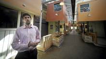 Andrew MacDonald is general manager of Eva's Phoenix, a shelter for homeless and at-risk youth in Toronto's west end. (Fred Lum/The Globe and Mail/Fred Lum/The Globe and Mail)