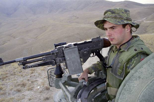 Private Thomas Welch served in Afghanistan from August, 2003, to February, 2004.