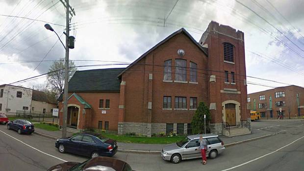 Hundreds of surplus religious properties are expected to hit the Canadian real estate market over the next decade. Here's how two former religious properties in Ottawa's Westboro neighbourhood are being repurposed. Ravenhill project: The Westboro United Church on Churchill Avenue was declared surplus and put up for sale after the congregation concluded it was in dramatic need of repair and would cost too much to rehabilitate. (Google)