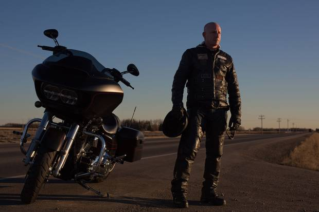 Retired Corporal Russ Lee was has been on the edge of suicide many times, but has found a way forward, through church, therapy, long motorcycle rides, and work as an Alberta Sheriff.