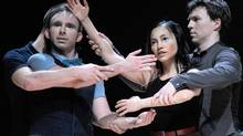 Choreographer Ginette Laurin's latest work, Khaos, makes reference to the Arab Spring. (Laurent Paillier)