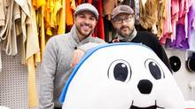 Hogtown Mascots has grown up since John Kernaghan, left, founded it in his garage in 2005. He has brought on George Civello as co-owner, moved into a storefront and hired two part-timers and two contract employees. (Rosa Park For The Globe and Mail)