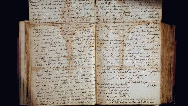A collection of letters written by General James Wolfe to his family is coming to Canada from Great Britain. The University of Toronto's Thomas Fisher Rare Books Library, the largest academic library in Canada, has acquired the archive for about $1.5-million. (HANDOUT)