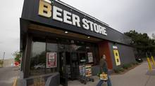 A Beer Store locating in Oakville on May 14, 2013 that shows the new branding and updated store style, with a walk in Beer Fridge, exposed wood and new branding. (Deborah Baic/The Globe and Mail)