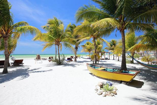 Isla Holbox is only 40 kilometres from toe to tip, tucked into the north edge of Mexico's Yucatan Peninsula.