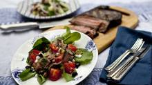 Fragrant Thai beef salad makes a delicious meal of yesterday's sirloin steak. You can substitute sliced deli roast beef if you don't have any leftovers. (Ryan Enn Hughes/Ryan Enn Hughes/The Globe and Mail)