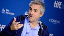 Director Alfonso Cuaron says creating Gravity 'was not a structured process.' (Evan Agostini/Associated Press)