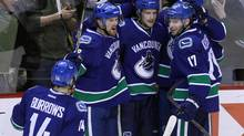The Vancouver Canucks have re-signed Alex Edler (file photo). (BEN NELMS/REUTERS)