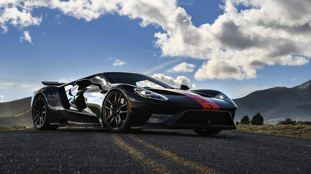 The 2017 Ford GT.