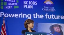 At a conference on Monday, B.C. Premier Christy Clark underlined how LNG stands to economically transform the West Coast. (Rafal Gerszak for The Globe and Mail)