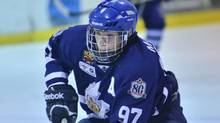Teen hockey phenom Connor McDavid is shown in a recent handout photo. McDavid is set to enter the Ontario Hockey League at age 15 after being granted exceptional player status by Hockey Canada. (Dave Wells/The Canadian PRess)