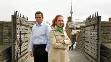 David O'Hara, Museum Administrator, Fort York National Historic Site, left, and Sandra Shaul, head of the city's War of 1812 commemoration committee (Peter Power/The Globe and Mail/Peter Power/The Globe and Mail)