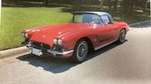 'Betsy' is the Corvette stolen (Handout)