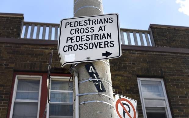 When crosswalks are located far apart, pedestrians are left with a choice: Make a sometimes lengthy detour – made even longer walking at a senior's pace – to use the crosswalk, or take their chances going across traffic.