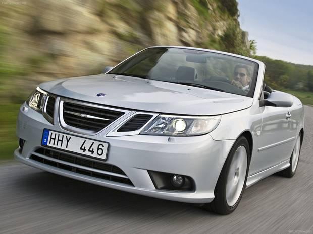 2008 Saab 9-3.