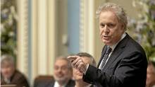 Quebec Premier Jean Charest responds to Opposition questions Thursday, May 3, 2012 at the legislature in Quebec City. (Jacques Boissinot/THE CANADIAN PRESS/Jacques Boissinot/THE CANADIAN PRESS)