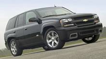 2006 Chevy TrailBlazer SS sport utility vehicle. (Anonymous/General Motors)