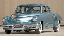 1948 Tucker 48 Torpedo. (TIM HEIT/Barrett/Jackson Auctions)