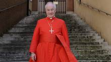 Canadian Cardinal Marc Ouellet in Rome, Italy on June 4, 2009. (ERIC VANDEVILLE/ABACAPRESS.COM)