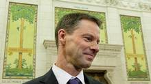 Nigel Wright, former chief of staff for Prime Minister Stephen Harper, resigned on Sunday, days after the disclosure that he had written a personal cheque for $90,000 to Senator Mike Duffy to help him repay erroneously claimed expenses. (Sean Kilpatrick/THE CANADIAN PRESS)