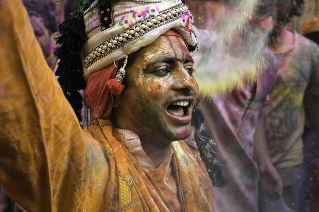 Holi's mythological significance varies by region throughout the subcontinent, and is primarily about relaxing social codes, meeting others and having a good time.
