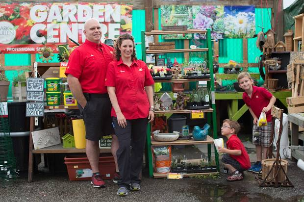Home Hardware store owners the McNaughton's from Gravenhurst, Ontario