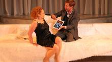 Barbara Pollard and Jonathon Young in Bard on the Beach's 2013 production of Hamlet (David Blue)