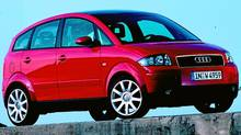 The Audi A2, built from 1999 to 2005, was only sold in Europe. (Audi/Audi)