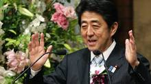 The main thrust of Prime Minister Shinzo Abe's economic plan is to instill confidence in Japanese consumers and businesses. (YUYA SHINO/REUTERS)
