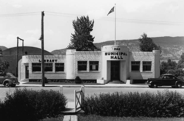 The municipal hall in Penticton, B.C.