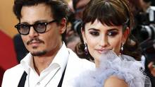 Johnny Depp and Penelope Cruz arrive on the red carpet for a screening of Pirates Of The Caribbean: On Stranger Tides at the Cannes Film Festival in 2011. Both actors are scheduled to appear at the 2012 Toronto International Film Festival. (YVES HERMAN/Reuters)
