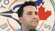 Toronto Blue Jays general manager Alex Anthopoulos has compiled a losing record over the course of four seasons. (FRED THORNHILL/REUTERS)
