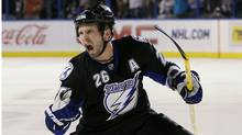 Tampa Bay Lightning forward Martin St. Louis (Chris O'Meara/Associated Press/Chris O'Meara/Associated Press)