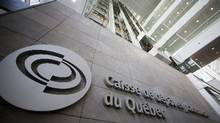 The Caisse de dépôt et placement du Québec building in Montreal. (Christinne Muschi/Reuters)