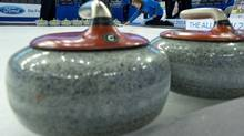 Curling rocks (JONATHAN HAYWARD/The Canadian Press)