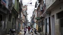 The mean streets of Complexo da Mare, a favela in north Rio, where the Bolsa Familia provides social aid to poor families. (Lianne Milton for The Globe and Mail)