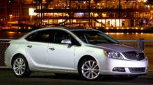 2012 Buick Verano (GM/General Motors)