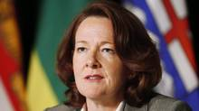 Alberta Premier Alison Redford speaks in Toronto on Nov. 15, 2013. (MARK BLINCH/THE CANADIAN PRESS)