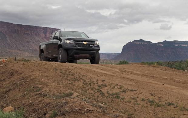 This mid-sized pickup strikes a balance between power, agility and rock-solid design.