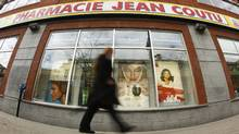 A Jean Coutu pharmacy in downtown Montreal (SHAUN BEST/REUTERS)